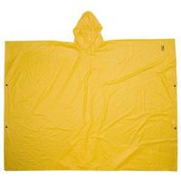 PONCHO LARGE PVC YELLOW