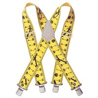 SUSPENDERS YELLOW TAPE