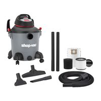 VACUUM WET/DRY 4HP 8GALLON