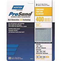 SANDPAPER AL OXD 400GRT 9X11IN