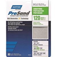 SANDPAPER AL OXD 120GRT 9X11IN