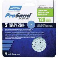 SANDING DISC H/L 5IN 120GRIT