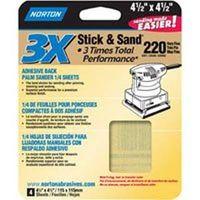 SANDPAPER SHEET 60G 4.5X4.5IN