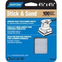 SANDING SHEET 4.5X4.5 100 GRIT