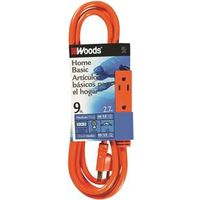 Coleman 2864 SJTW 3-Outlet Power Tap Extension Cord