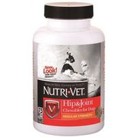Nutri-Vet 01271-0 Hip and Joint Dog Chewable Food