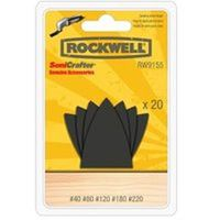 Rockwell RW9155 Assortment Finger Shape Sandpaper Set