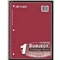 Top Flight WB705/PFW Wirebound Note Book