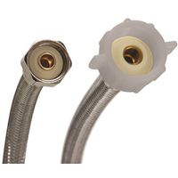 Fluidmaster B4T16 Braided Flexible Toilet Connector