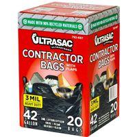 BAG CTRCTR 20 COUNT 3MIL 42GA