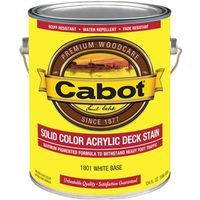 Cabot 1801 Solid Color Decking Stain