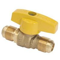 Brass Craft TBVF8 Quarter Turn Gas Ball Valve