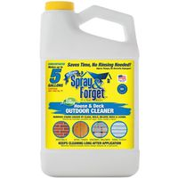 Spray And Forget SFHD64OZ-4 Mildew Cleaner