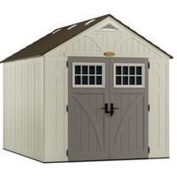 SHED STORAGE VANILLA 8FTX10FT