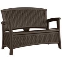 LOVESEAT OUTDOOR RESIN JAVA