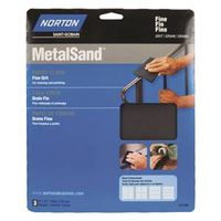 Norton 07660747805 Metal Sand Sheet