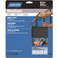 Norton 07660747820 Metal Sand Sheet