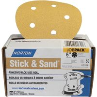 DISC SANDG ADH-BK 80G 50PK 5IN