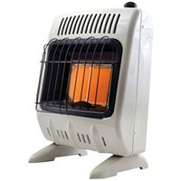 HEATER 10K BTU LP GAS 2PLAQUE