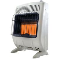 HEATER 18K BTU LP GAS 3PLAQUE