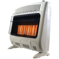 HEATER 30K BTU LP GAS 5PLAQUE