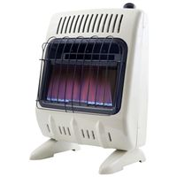 HEATER 10K BTU NG BLUE FLAME