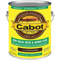 Cabot 1437 Oil Based Semi-Solid Deck and Siding Stain