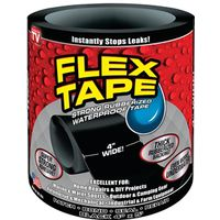 TAPE FLEX BLACK 4IN X 5FT