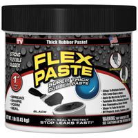 FLEX PASTE BLACK 1LB JAR