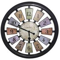Westclox 36014 Casual Color Framed Panel Wall Clock