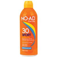 Sun and Skin Care Research 296 No-Ad Sports Sunblock Spray