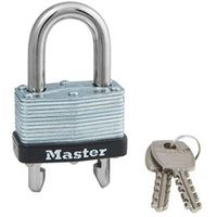 PADLOCK STL KD WARDED 1-3/4IN