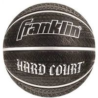 BASKETBALL BLK RUBBER HRDCOURT
