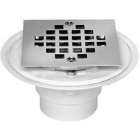 SHOWER DRAIN PVC W/STRAINER