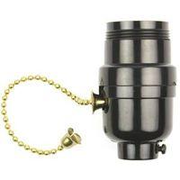Jandorf 60534 On/Off Pull Chain Lamp Socket