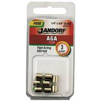 Bussmann AGA Cartridge Fast Acting Fuse Without Indicator