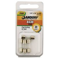 Bussmann AGW Cartridge Fast Acting Fuse Without Indicator