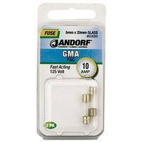 Bussmann GMA Cartridge Fast Acting Fuse With Indicator