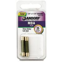 Bussmann MDA Cartridge Slow Blow Time Delay Fuse Without Indicator