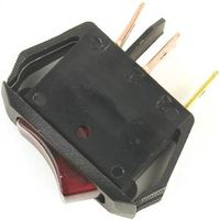 Jandorf 61032 Illuminated Single Circuit Rocker Switch