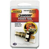 Jandorf 61121 Single Circuit Push Button Switch