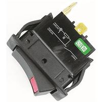 Jandorf 61126 Curvette Illuminated Single Circuit Rocker Switch