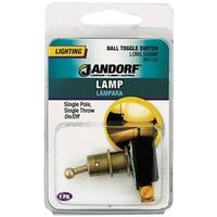 Jandorf 61134 Ball Single Circuit Toggle Switch