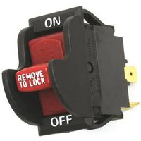 Jandorf 61314 Single Circuit Rocker Switch With Lock Out