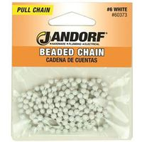 Jandorf 60373 Beaded Chain With NO 6 Connector