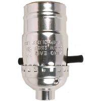 Jandorf 60401 On/Off Push Through Lamp Socket