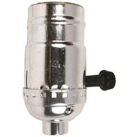 Jandorf 60403 3-Way Turn Knob Lamp Socket