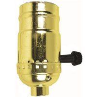 Jandorf 60409 3-Way Turn Knob Lamp Socket