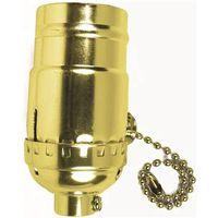Jandorf 60410 On/Off Pull Chain Lamp Socket