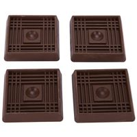 CUP SQUARE RUBBER 2IN BROWN